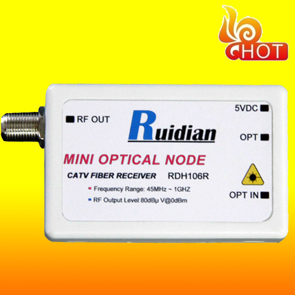 catv fiber optic node/Optic CATV Receiver with Frequency Range 47~1000 MHz(China (Mainland))