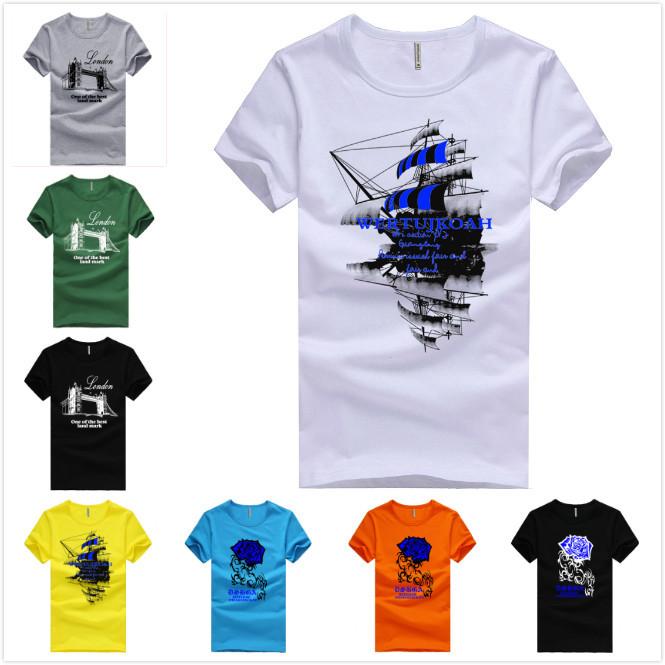 Мужская футболка T shirt & 2015 T camiseTas ea7 hba T