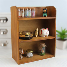 1pcs Antique Wooden Table Sundries Container Cosmetics Storage Box Home Multifunctional Office House(China (Mainland))