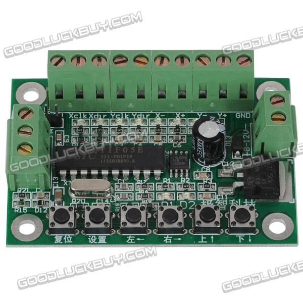Programmable two axis stepper motor controller plc pulse for How to program stepper motor with plc