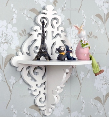 Baroque Rococo Bookcase Book shelf / Hanger/Wooden storage/ Book shelf /Living Room Furniture/Wall Decor/home decoration(China (Mainland))