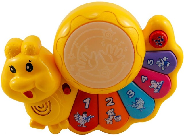 Music drum 3c music piano 0 - 3 early learning toy