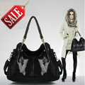 Hot sale 2014 new fashion composite leather bag high quality brand design snake skin shoulder bag