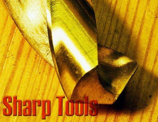 11.1-11.5mm Titanium HSS Straight Shank Twist Drills Bits Tool Set