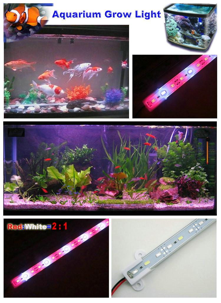 preiswerte LED-Lichtleiste / 18 Watt / rot 660nm, blau 460nm, weiße LEDs 6500K / Vollspektrum aus smd5630 LEDs