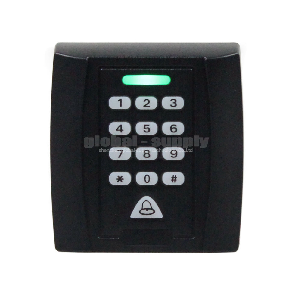 Proximity RFID Reader 125KHz Keypad Access Controller Security System Kit Doorbell Button For House / Office / Home Improvement(China (Mainland))