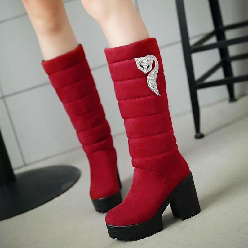 Женская зимняя обувь в алиэкспресс