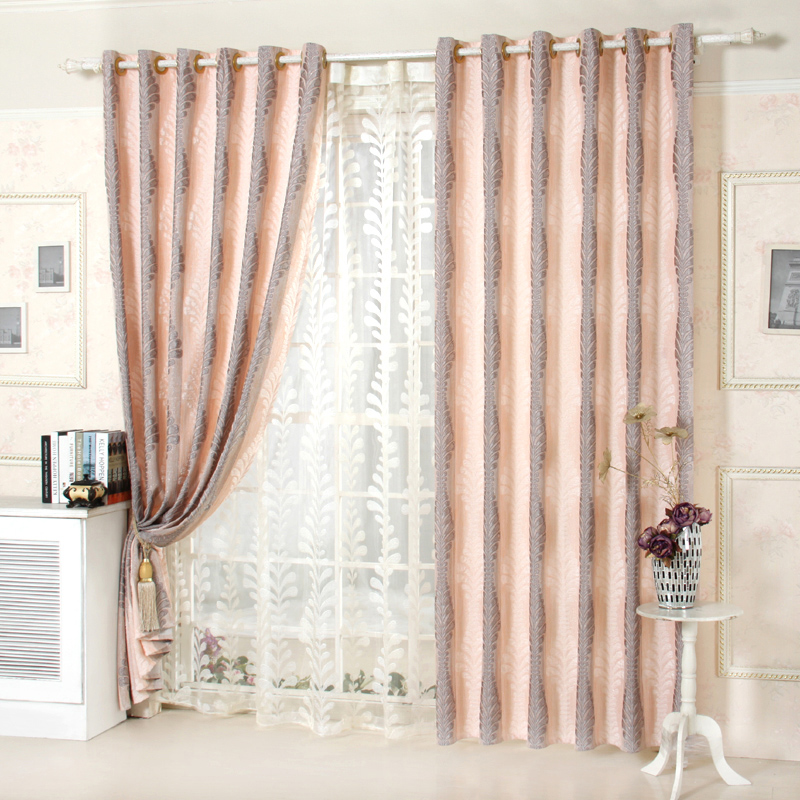 New 2014 Top Sale Cortinas Blinds Modern Rustic Flower
