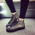Autumn winter Female Footwear 2017 Fashion Women Casual Shoes Flats Canvas Espadrilles Hollow Lace Plimsolls Breathable