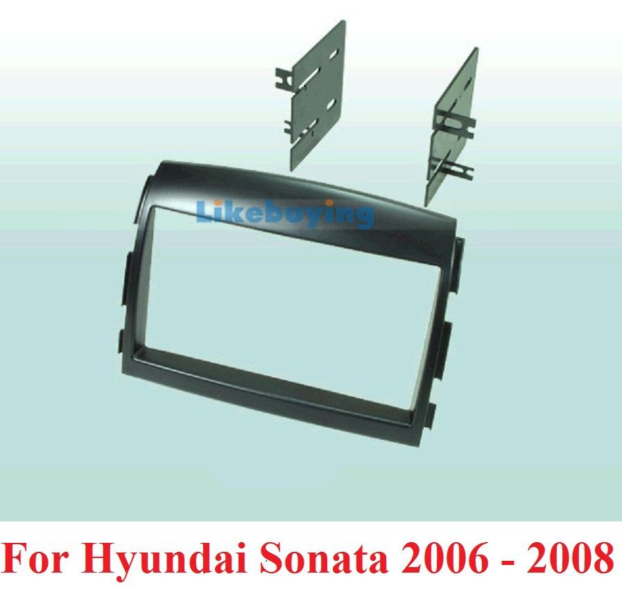2 Din frame Kit / carro fascia Car Fascia Panel Audio Frame Dash Hyundai Sonata 2006 2007 2008 - Shenzhen Being Lucky Trading Co.,Ltd store
