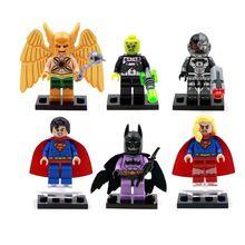 Marvel Avengers super heroes series Captain America Minifigures Building Blocks set bricks toys Figures(China (Mainland))