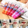 6Pcs lot Pintalabios Romantic Bear Peel Off Lipstick Liquid Matte Baby Lips Makeup Long Lasting Waterproof