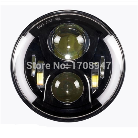 016 the best sellers discount special price 40W 20W 7inch led headlight for wrangler from China(China (Mainland))