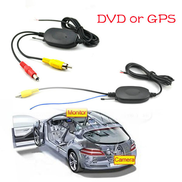 2.4G Car Rear View Camera Wireless Module output DVR or GPS Video Transmitter & Receiver Module For Car Backup Rear View Camera(China (Mainland))