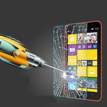 Anti Shatter Explosion-proof 0.3mm 2.5D Premium Tempered Glass Screen Protector Film For Nokia Lumia Multi-phone(China (Mainland))