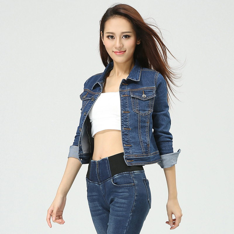 Short Denim Jackets For Women - JacketIn