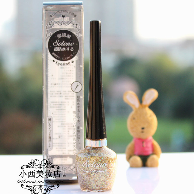 New arrival super solone waterproof eyeliner liquid waterproof soft 5ml chirography