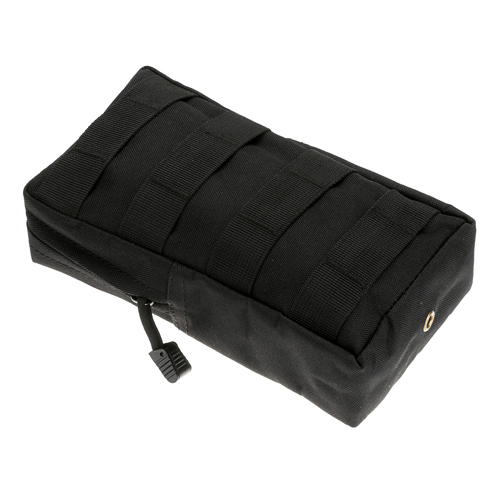 Military Nylon Army Fans Camo Magazine Pouch Bag Waist Bag Pouch Case - Black(China (Mainland))