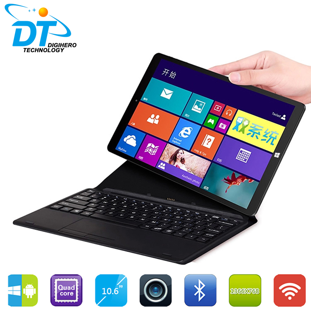 "Chuwi Vi10 tablet Dual OS 2 in 1 PC Tablet Windows 8.1 & Android 4.4 Dual Boot 2GB 64GB 10.6"" Z3736F PC Tablet Computer HDMI(China (Mainland))"
