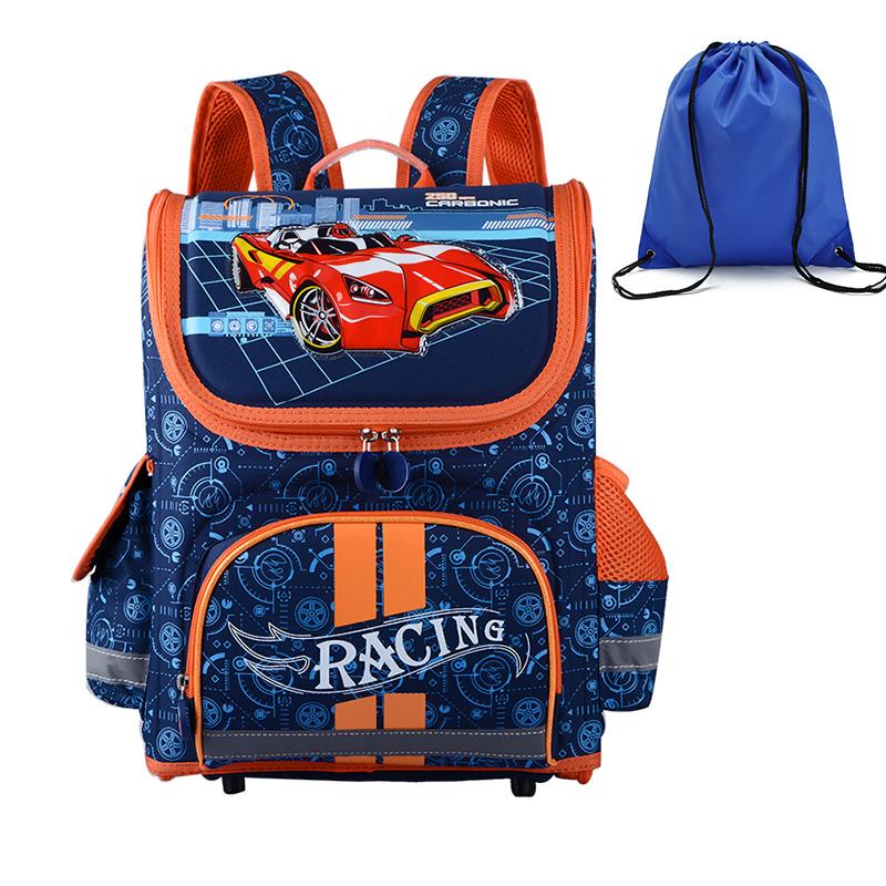 High Quality Orthopedic Waterproof EVA Children School Bags For Boys Backpack Kids Birthday Mochila Infantil Gift Shoe Bags