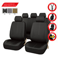 11PCS PU Leather Automotive Universal Car Seat Covers Fit for Vehicles mazda toyota Hyundai seat cover