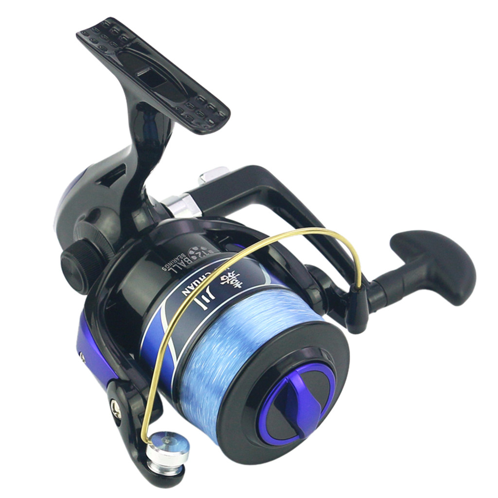 Fishing Reel Wheel Metal Line Cup R//L Adjustable 10BB 5.1:1 Gear Ratio Spinning