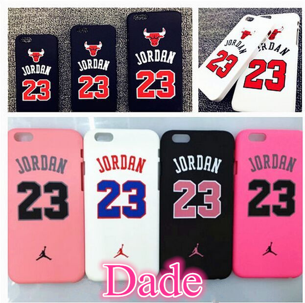 Chicago bulls Basketball Jordan 23 basketball series Cell Phone Cases For iPhone 6 4.7/5.5 inch 5 5S Plastic Mobile Phone Bags(China (Mainland))