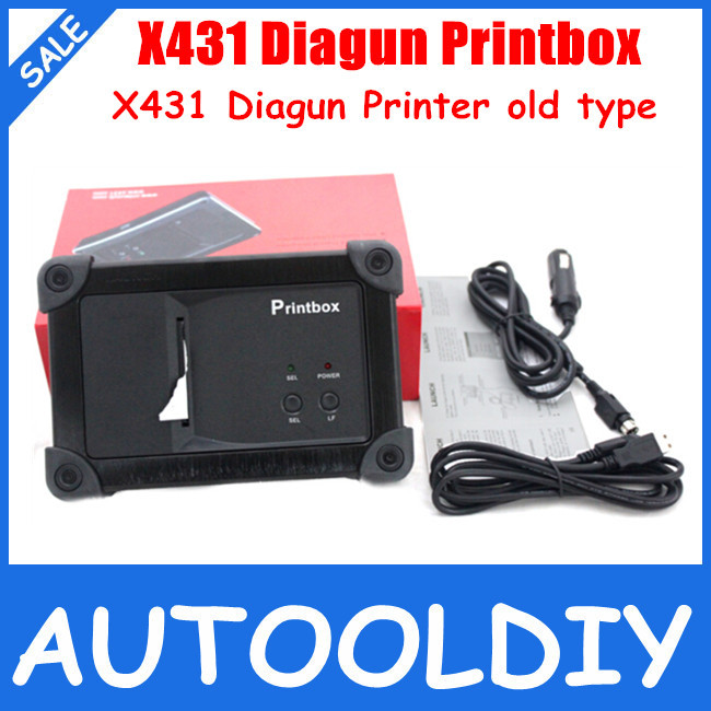 ON SALE! 100% Original Launch X431 Diagun Mini Printer with Lowest Price X431 Diagun Printbox Diagun Printer Free Shipping(China (Mainland))