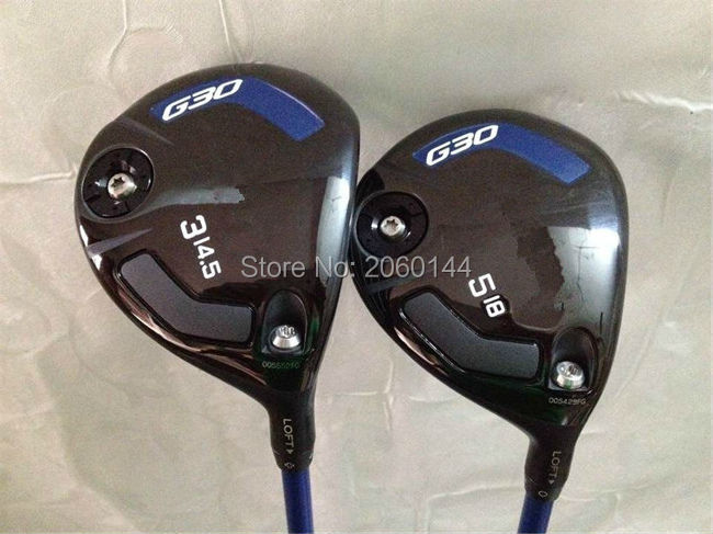 Brand New G30 Fairway Woods G30 Woods G30 Golf Clubs #3/#5 Regular/Stiff Flex TFC419 Graphite Shaft With Head Cover(China (Mainland))