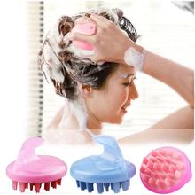 Fashion Head Scalp Body Massage Massager Brush Comb Bath Relax Cleaning Exquisite Life Free shipping(China (Mainland))