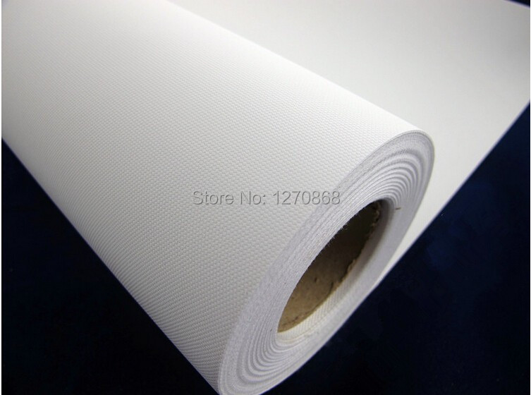 260g water resistant polyester inkjet canvas roll for wholesale matte surface 18m long(China (Mainland))