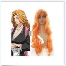 Wholesale& heat resistant LY free shipping>>>Bleach Matsumoto Rangiku Cosplay Wig