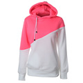 Fashion Women s Long sleeved Hooded Drawstring Hoodie Short Coat Pullover Hot