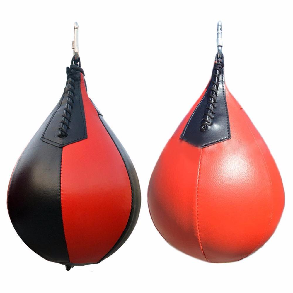 HTB1tXRzQFXXXXcSXXXXq6xXFXXXS Winmax De Boxe Poire Forme PU Vitesse Balle Pivotant Poinçon Sac Poinçonnage Exercice Speedball Vitesse sac Poinçon Fitness Training