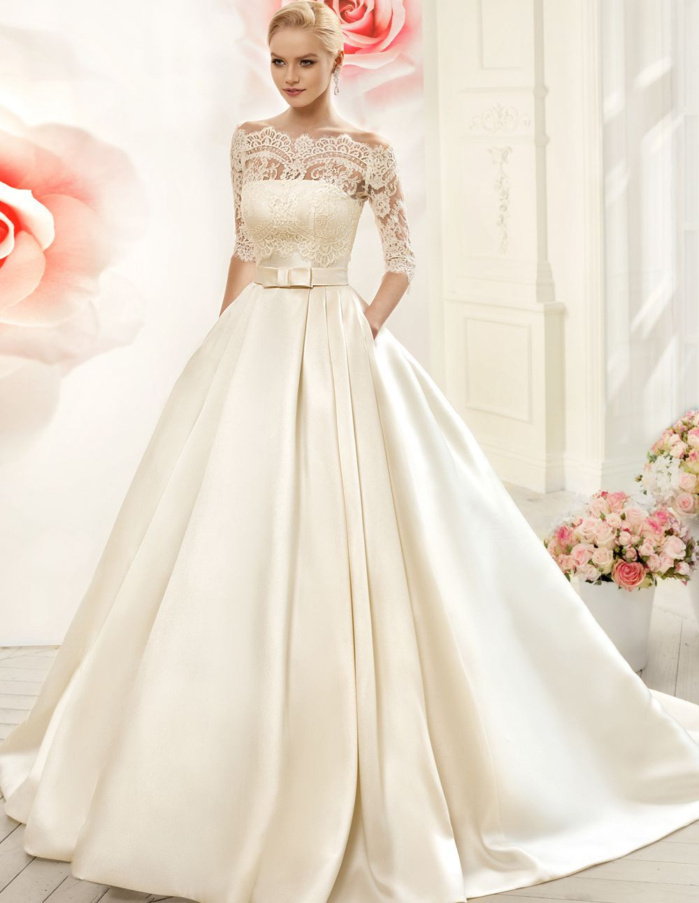 Designer Wedding Dresses With Sleeves 25