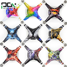 PGY NEW DJI phantom3 3M stickers Graphic Wrap Skin skins decals phantom 3 accessories Quadcopter drone parts