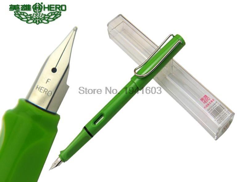 Fountain pen single F Nib 7 colors to choose HERO 359 office and school signature pen<br><br>Aliexpress