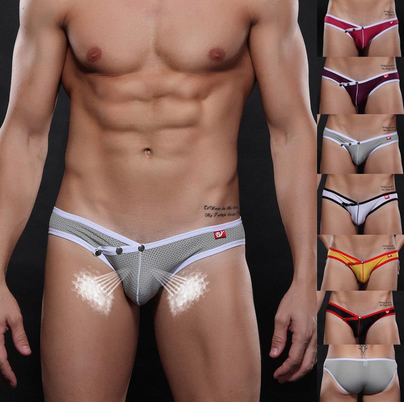 gay men underwear Free shipping! 2015 Fashion Short cueca Briefs Sexy Men Underwear Calzoncillos Shorts marcas XDL-1358#(China (Mainland))