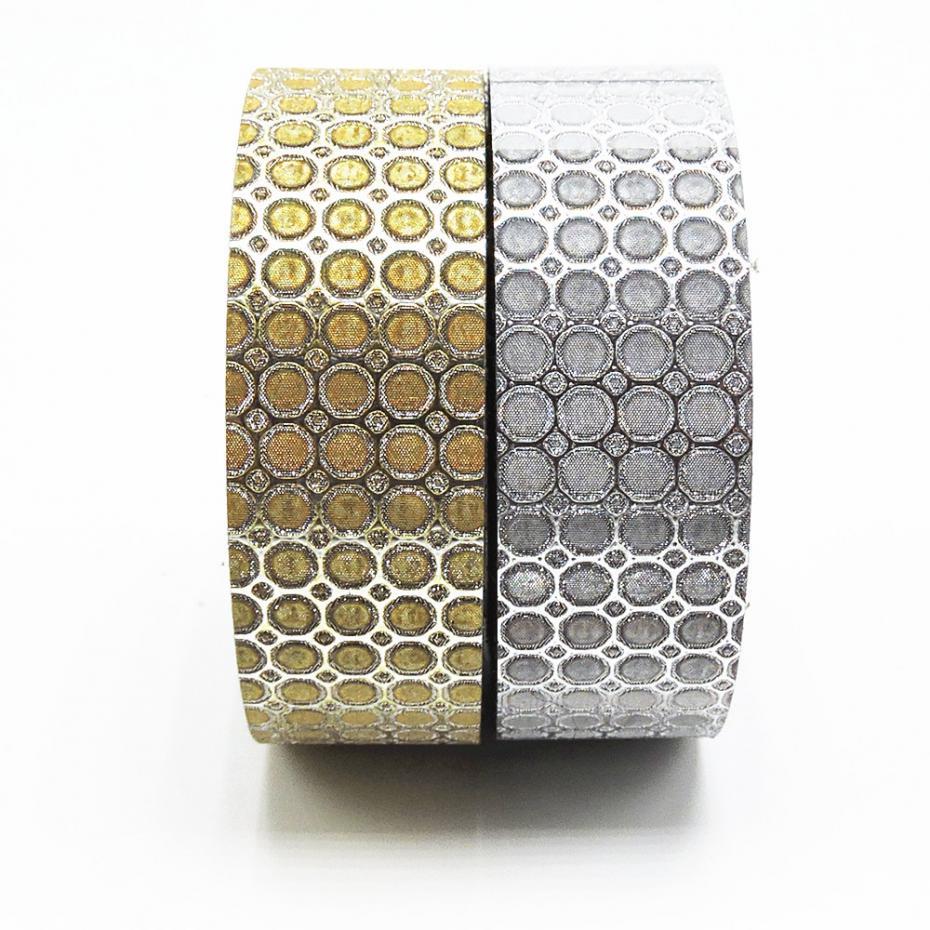 2016 New! Metallic Colour PP Washi Tape Scrapbooking Decorative Tool DIY Kawaii Japanese Stationery Cinta Crafts Paper Craft<br><br>Aliexpress