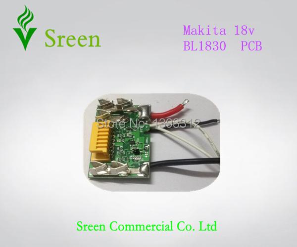 Гаджет  Makita Lithium Ion battery circuit board for Makita BL1830 (3.0Ah/4.5Ah)  New PCB Free shipping None Электронные компоненты и материалы