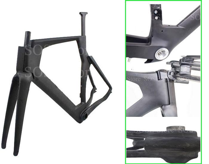 51/54/57CM Triathlon Bike Frames Carbon TT Frames TT handlebar Time Trial Carbon Bicycle Frames Aero Tube BB86(China (Mainland))