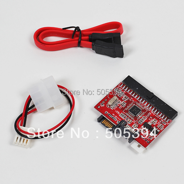 Free shipping New 2 in 1 IDE to SATA / SATA to IDE Adapter Converter