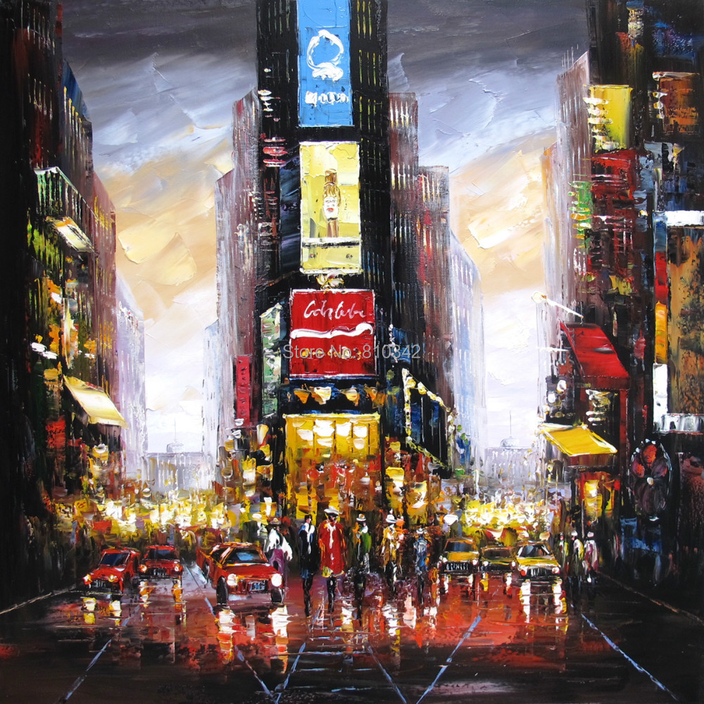 Buy palette knife oil painting modern for Art and craft stores nyc