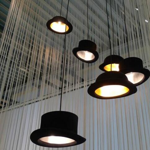 British hat droplight creative dome and flat hat cap restaurant/bar/corridor droplight(China (Mainland))