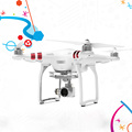 IN STOCK DJI Phantom 3 standard Drone rtf drone with camera with 2 7K hd camera