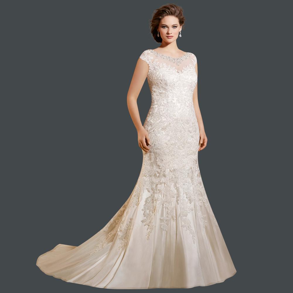 Achetez en gros robe de mariage plus la taille en ligne for Plus la taille robes de mariage washington dc