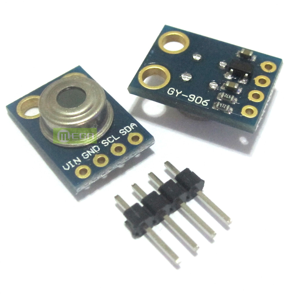 GY-906 MLX90614ESF New MLX90614 Contactless Temperature Sensor Module - Mega Semiconductor CO., Ltd. store