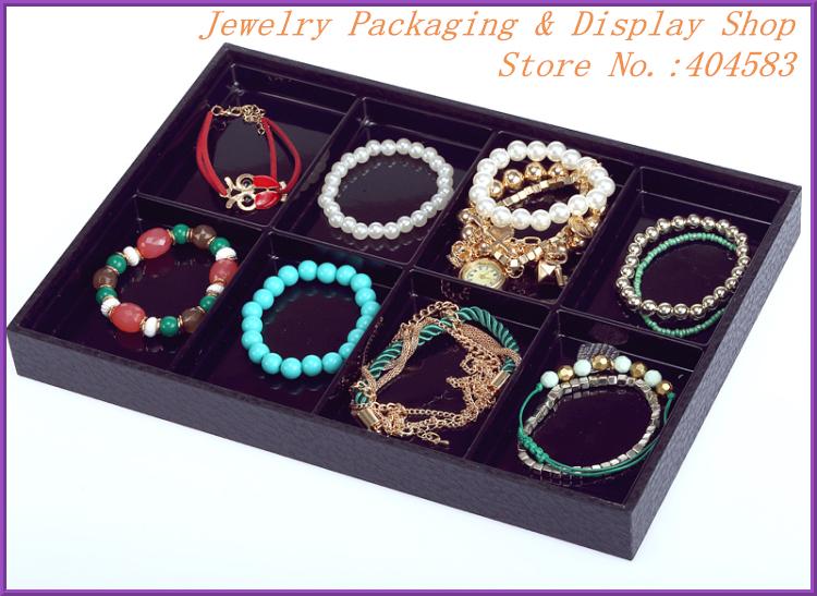 Aliexpress.com : Buy Black 8 slots unique jewelry ... Unique Bracelet Displays