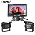 Ultra Slim 7 Car LCD Monitor Rear view Camera Parking Night Vision Waterproof Rearview Camera For