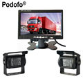 Ultra Slim 7 Car LCD Monitor Rear view Camera Parking Night Vision Waterproof Rearview Camera For